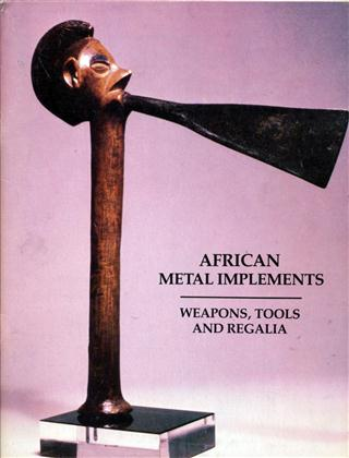 african metal implements